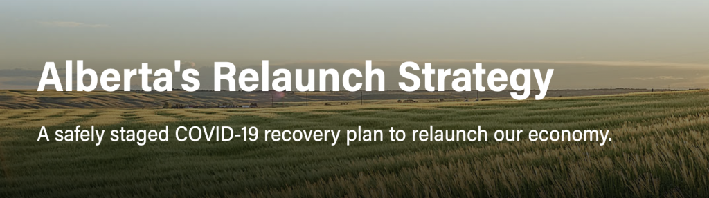 Alberta Relaunch Strategy