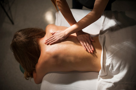 massage therapy by CRMTA member